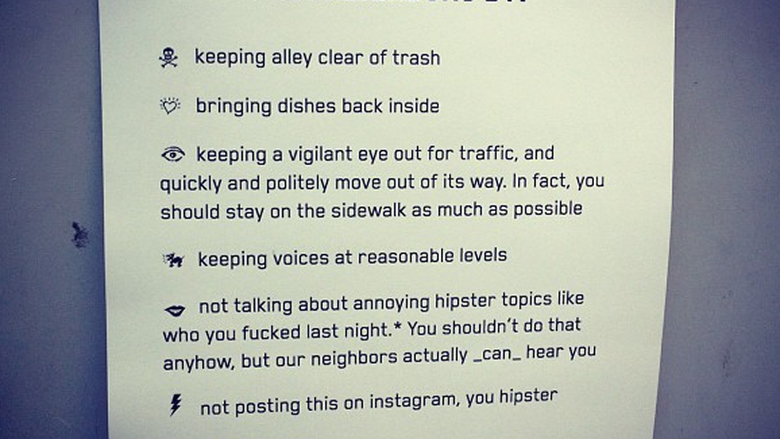 How To Delete Instagram Pictures Sf Coffee Shop Bans 'annoying Hipster  Topics,' Instagram