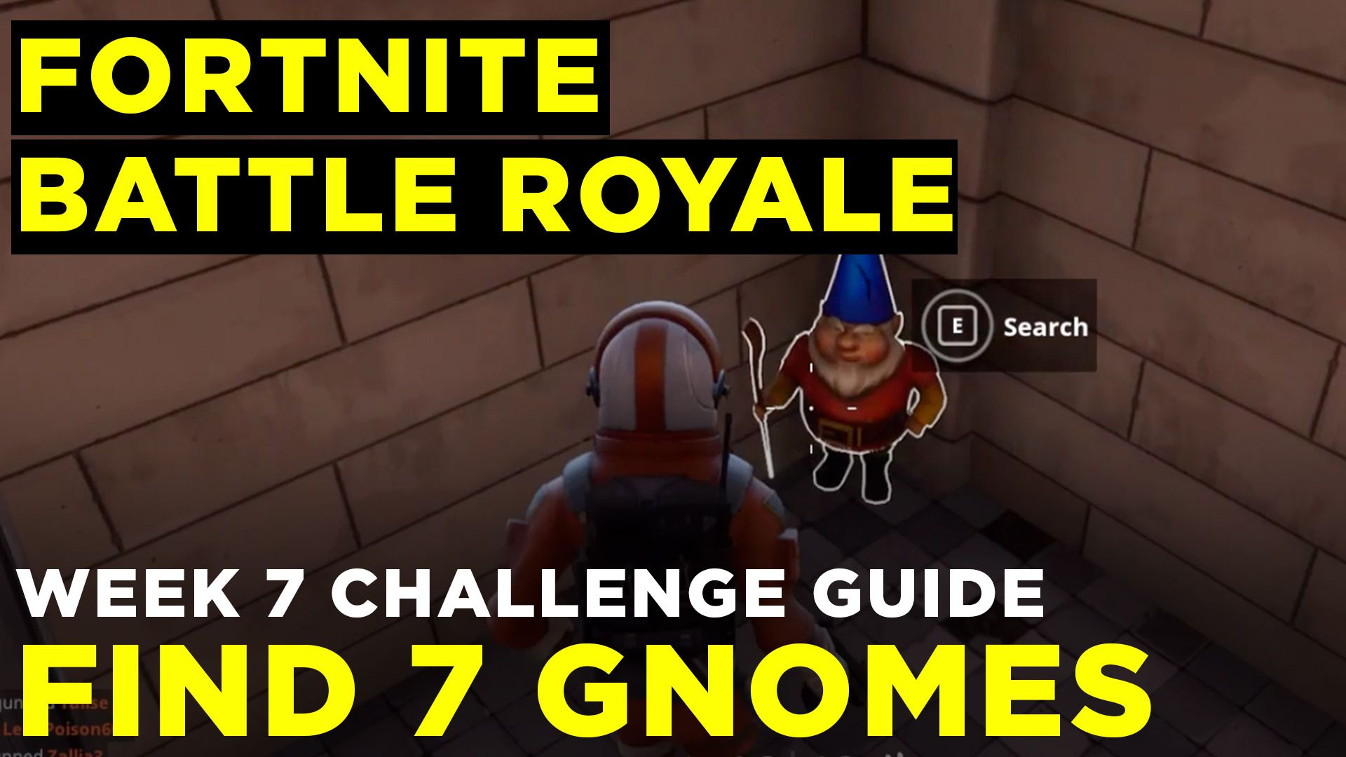 Fortnite Battle Royale Hidden Gnome Locations Guide Polygon