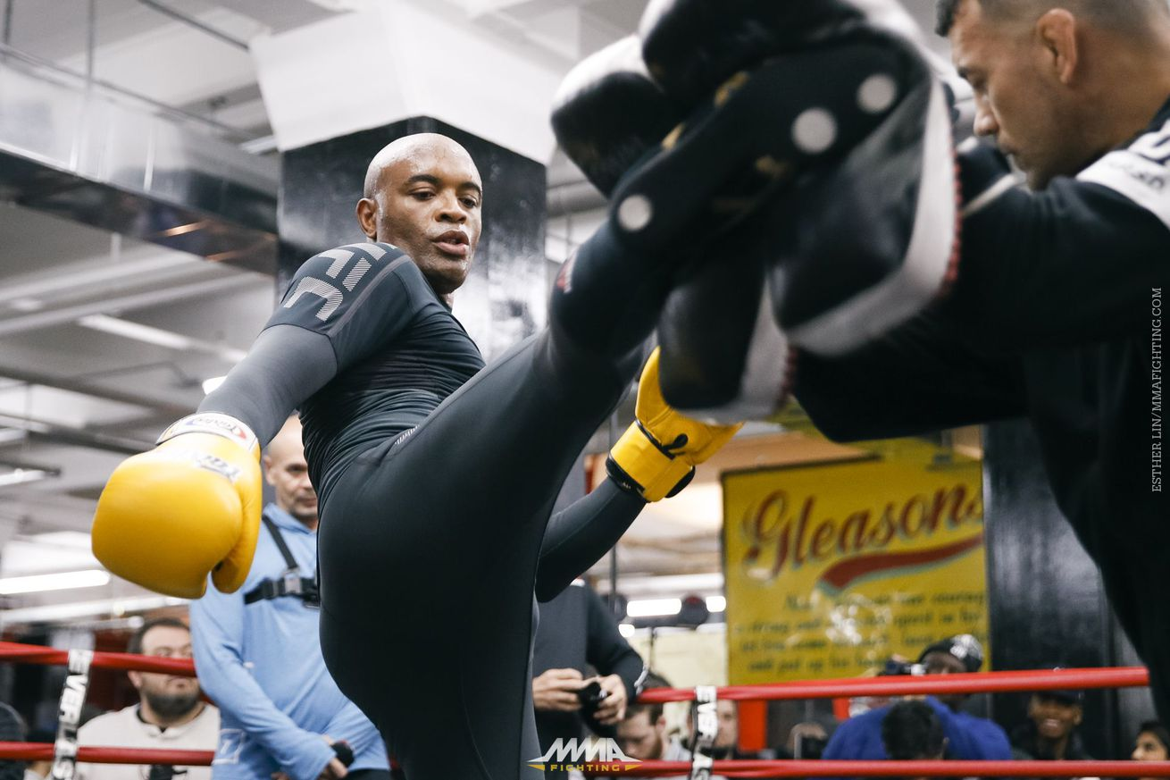 Fired up Anderson Silva says he'll retire if UFC doesn't book interim title fight against Yoel Romero