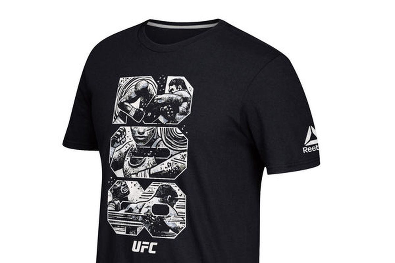 community news, Fighters get custom shirts from Brooklyn artist for UFC 208 weigh ins