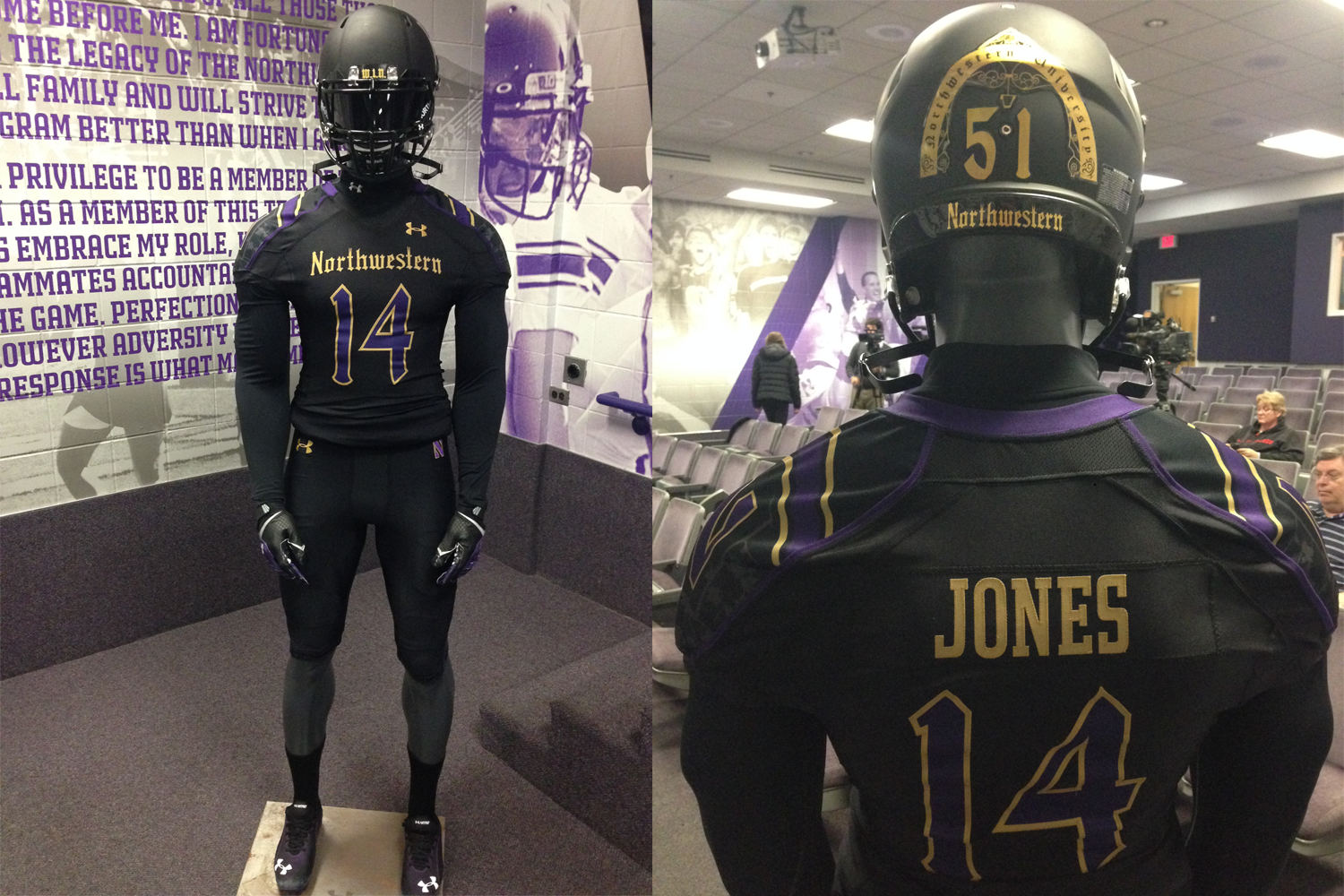 promo code a073d e6002 COLUMN: Northwestern's ever-changing uniforms are great for ...
