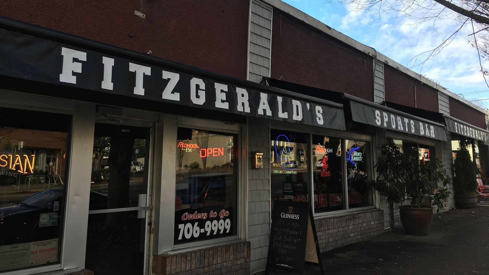 Ballard S Wingmasters Is Now Fitzgerald S Sports Bar