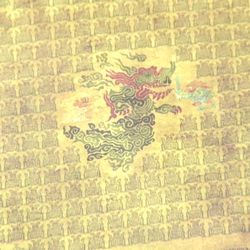 """""""This actually is telling the legend of Calamity Ganon,"""" said Bihldorff, showing the tapestry on the other side of the map."""
