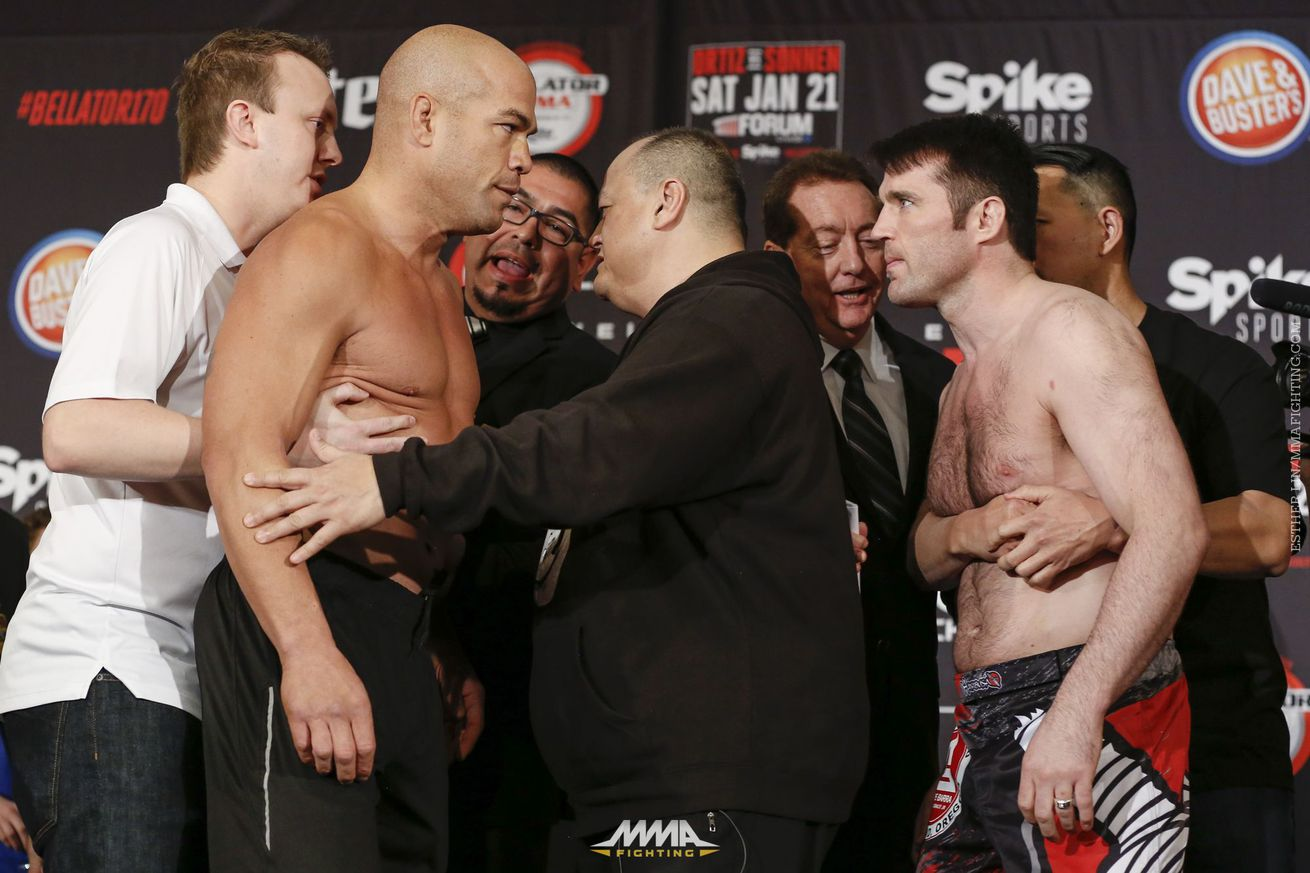 community news, Tito Ortiz vs. Chael Sonnen leads Bellator 170 to third biggest viewership in Bellator history