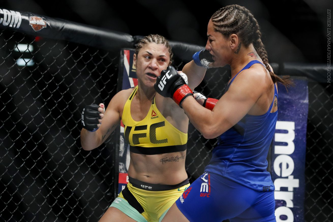 Bethe Correia believes she can KO 'overrated Holly Holm