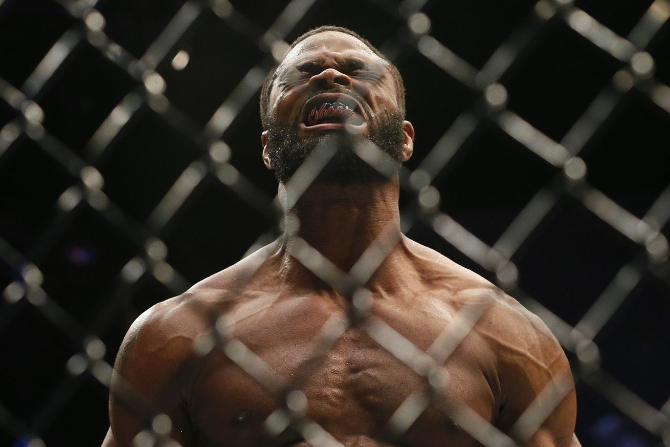Smashed in the middle, new Welterweight champ Tyron Woodley explains disinterest in helping promote UFC 201