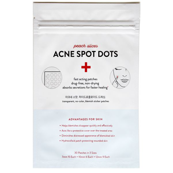 Acne dots in a package