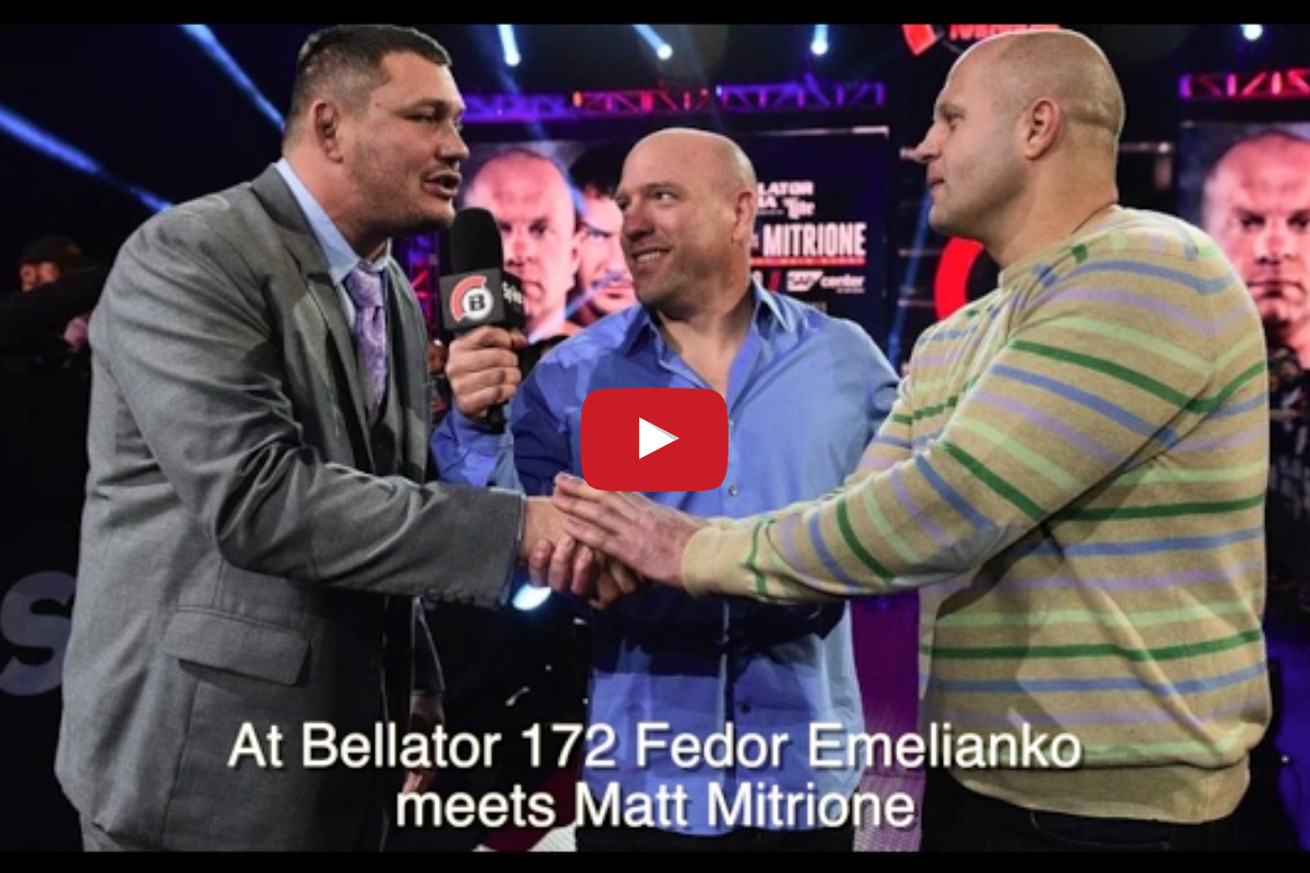 Fedor Emelianenko vs Matt Mitrione full fight video preview 'Head to Toe' for Bellator 172