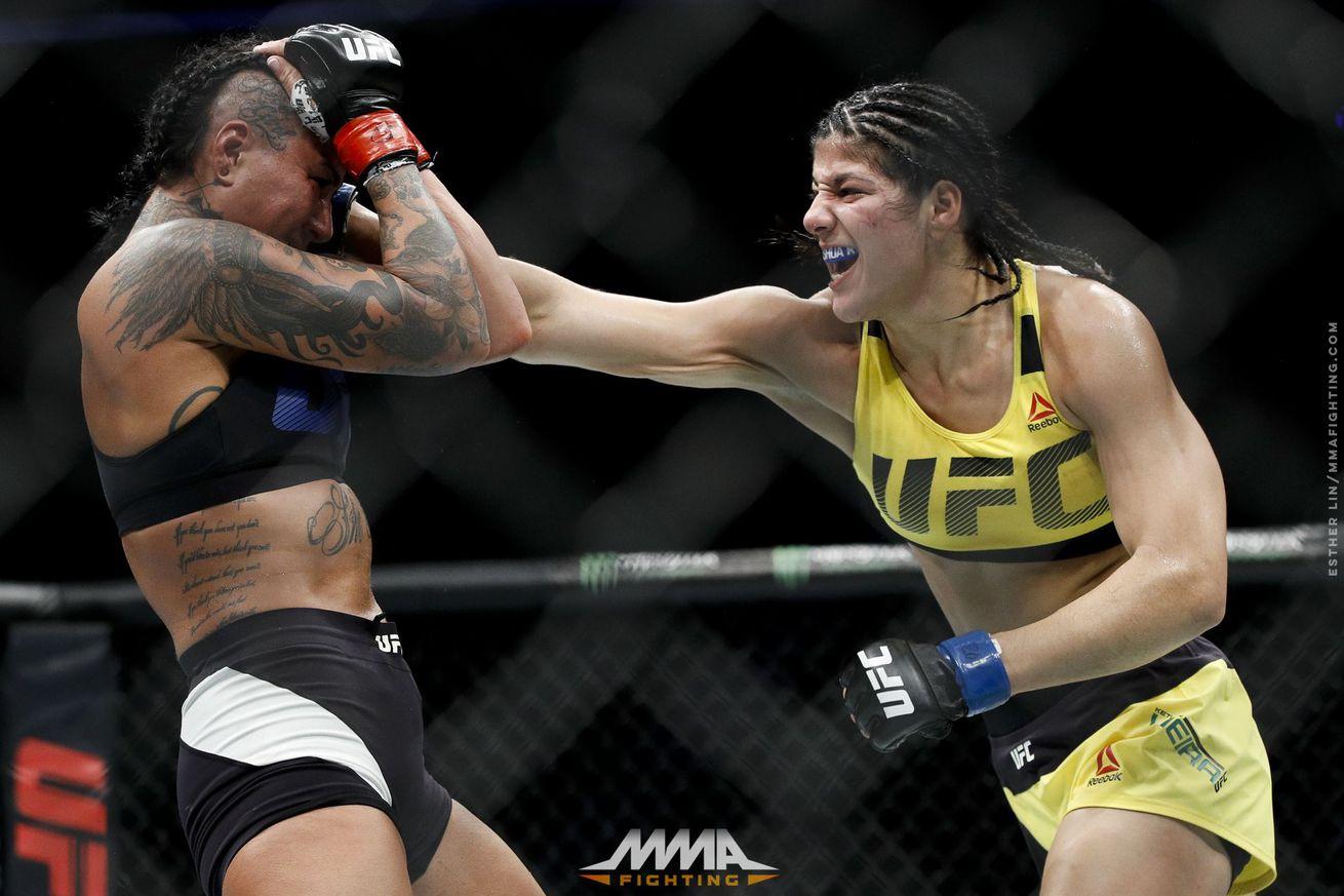 Undefeated bantamweight Ketlen Vieira calls out Marion Reneau