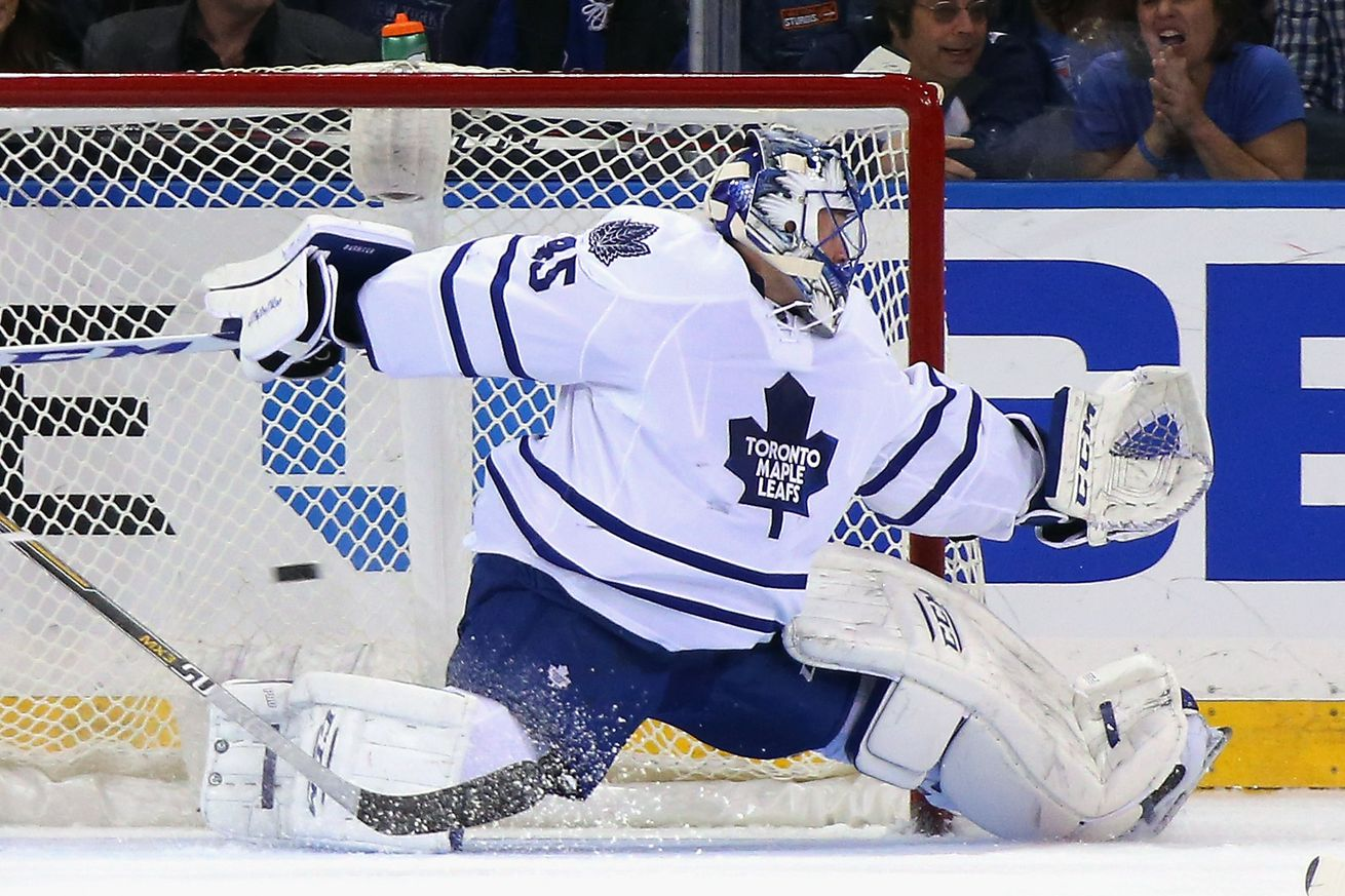 Ducks acquire G Jonathan Bernier from Toronto for draft pick