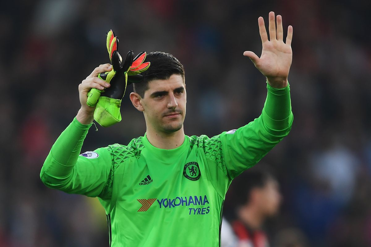 Chelsea goalie Courtois got injured while taking part in National Basketball Association