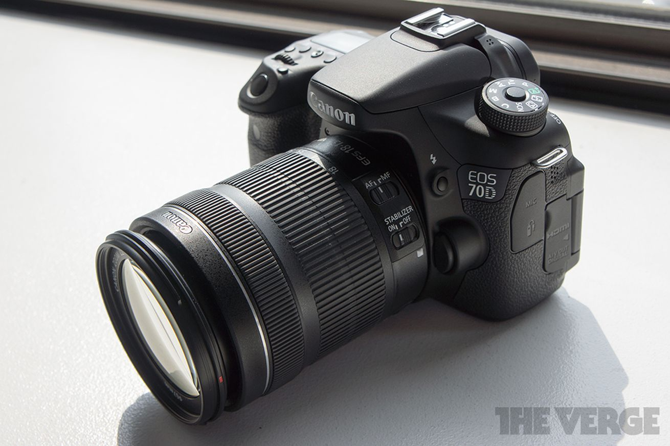 Camera Canon Camera Models Dslr canon introduces eos 70d dslr says its autofocus changes the game for filmmakers verge
