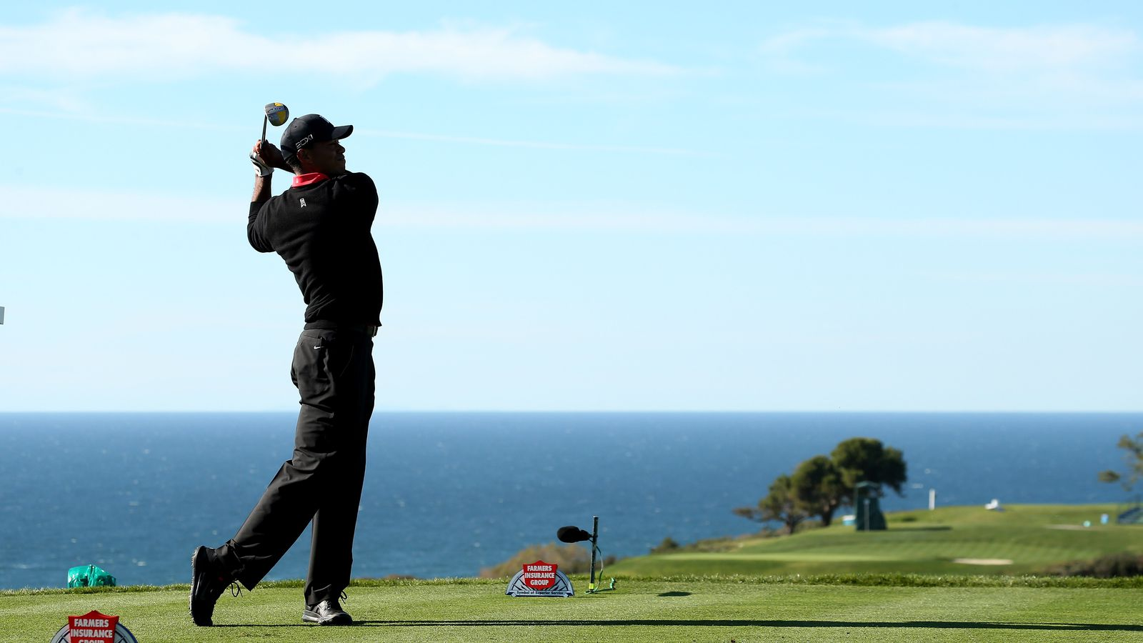 Tiger Woods Commits To Farmers Insurance Open And Sets His