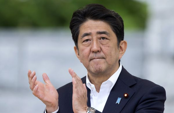 Japanese PM Shinzo Abe.