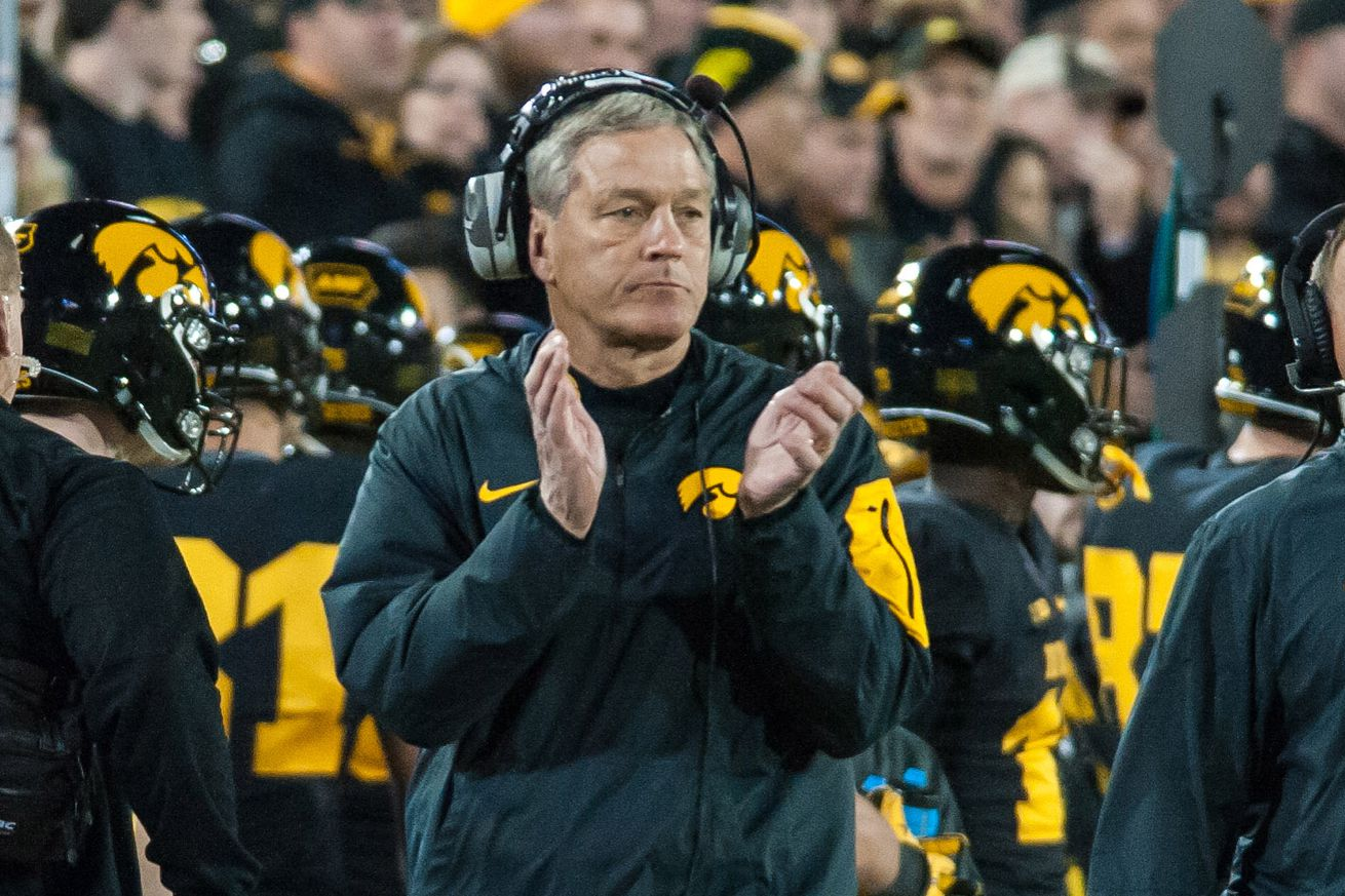 Image result for kirk ferentz clapping