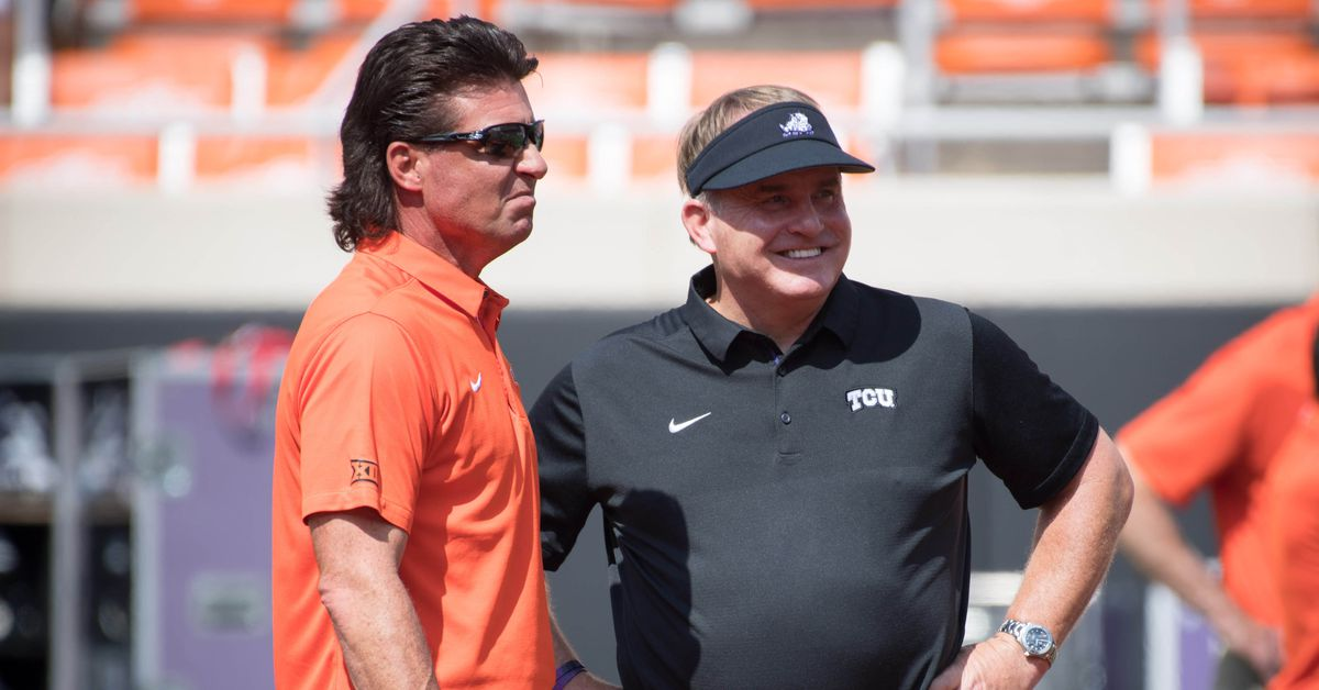 Mike Gundy Mullet 2017 >> HIGH NOON HIGHLIGHTS (9/25): We are on Mike Gundy Mullet Watch and more. - Cowboys Ride For Free