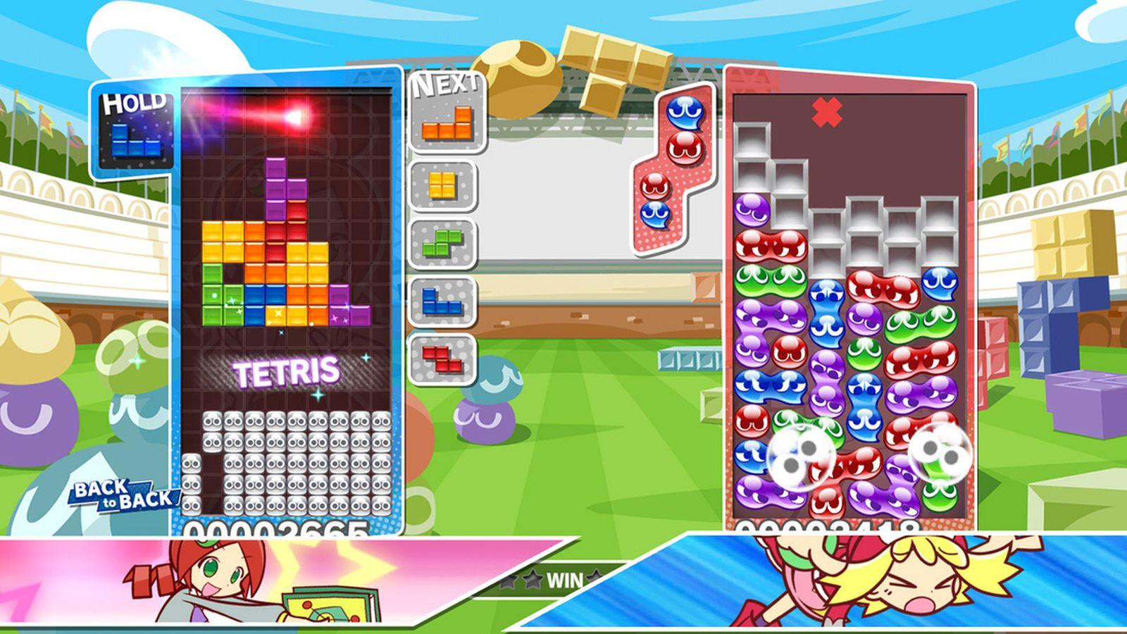 Puyo Puyo Tetris's physical Nintendo Switch version costs $10 more than eShop, PS4