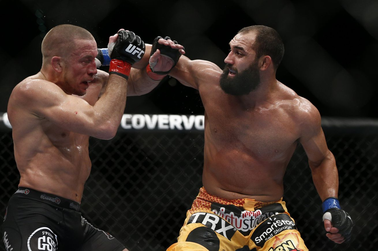 Johny Hendricks surprised by Georges St Pierre's comeback, wishes St Pierre would've stayed retired