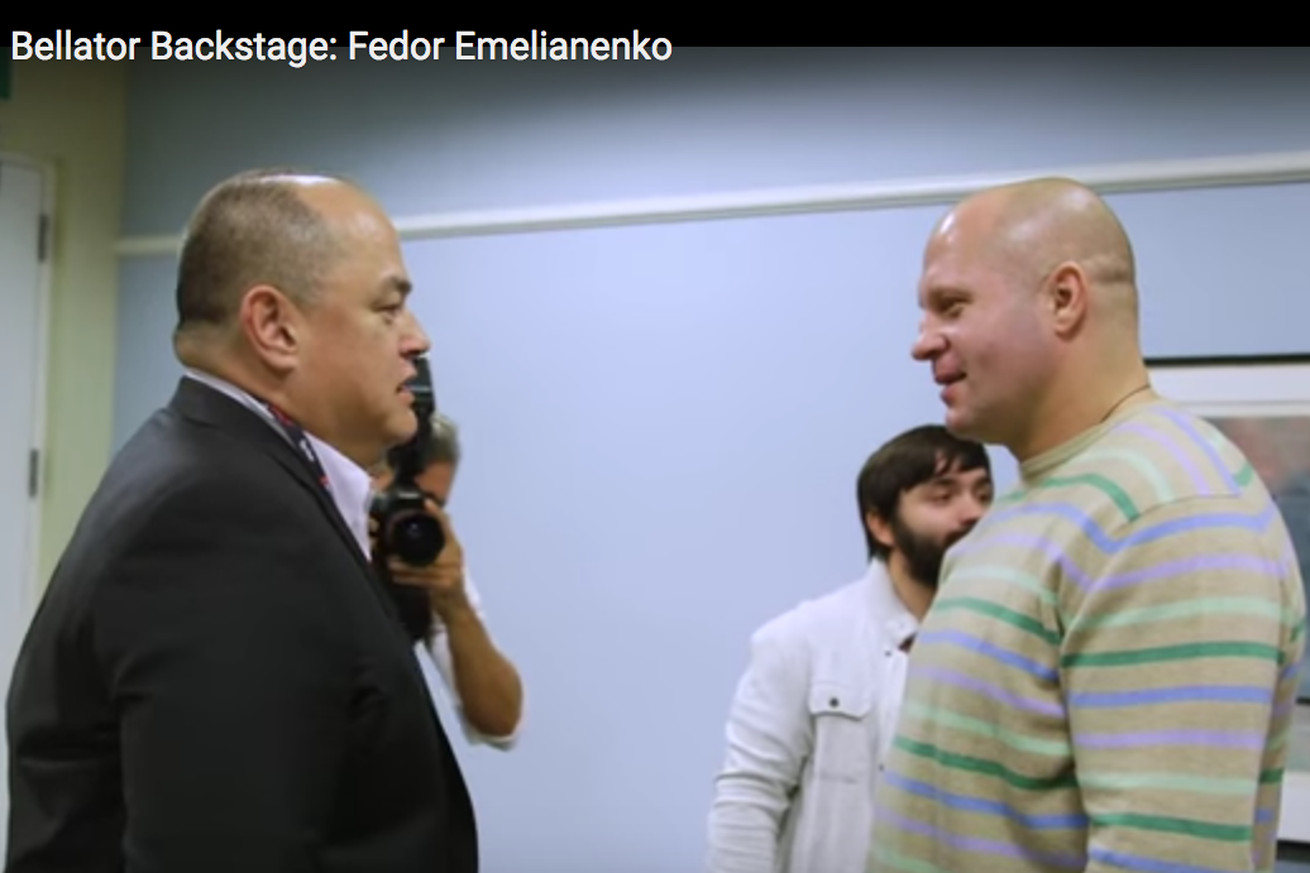 Fedor Emelianenko vs Matt Mitrione fight video previews ... Josh Thomson, too   Bellator 172
