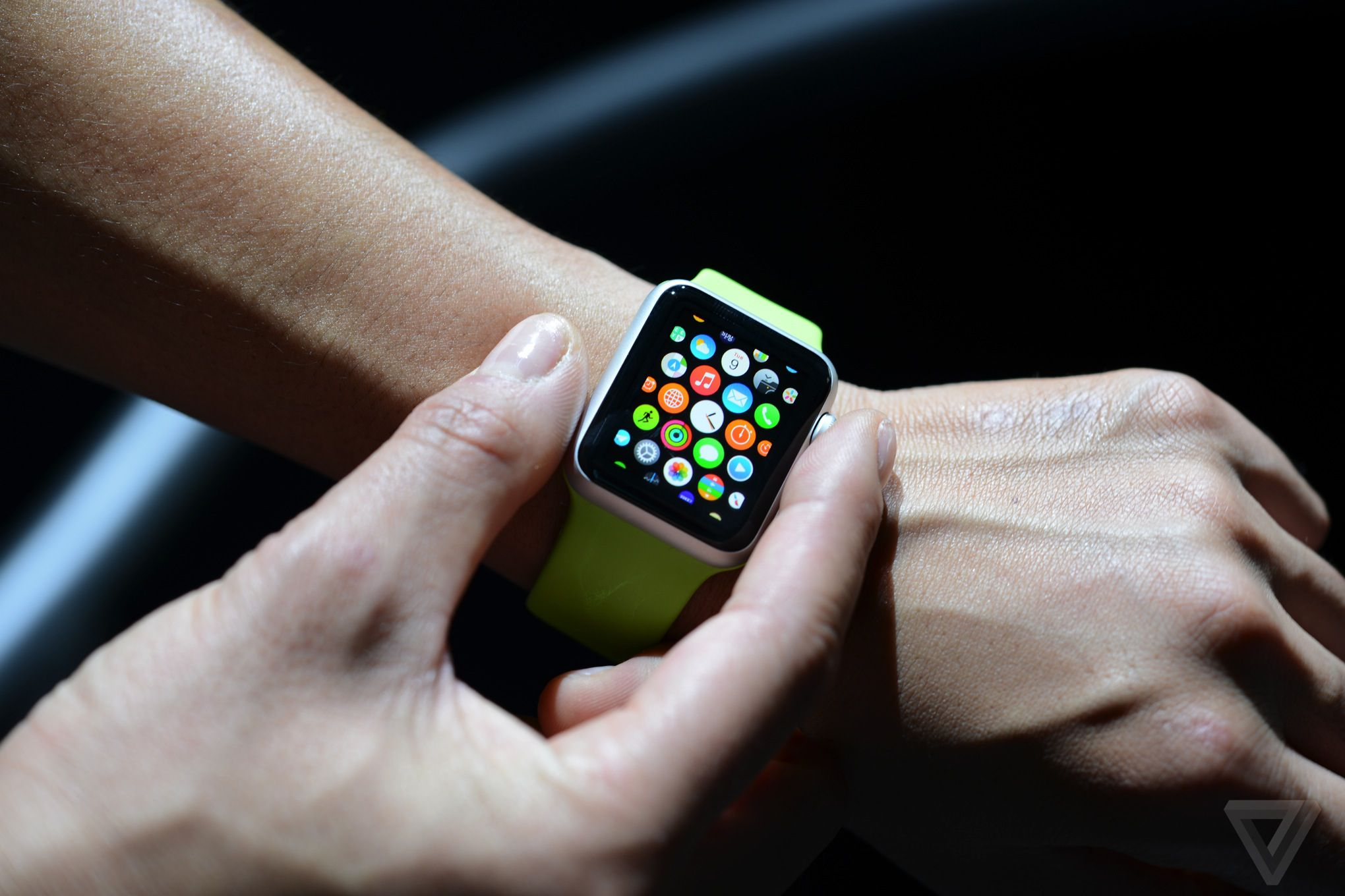 Background Apple Watch Apple Watch on Arm