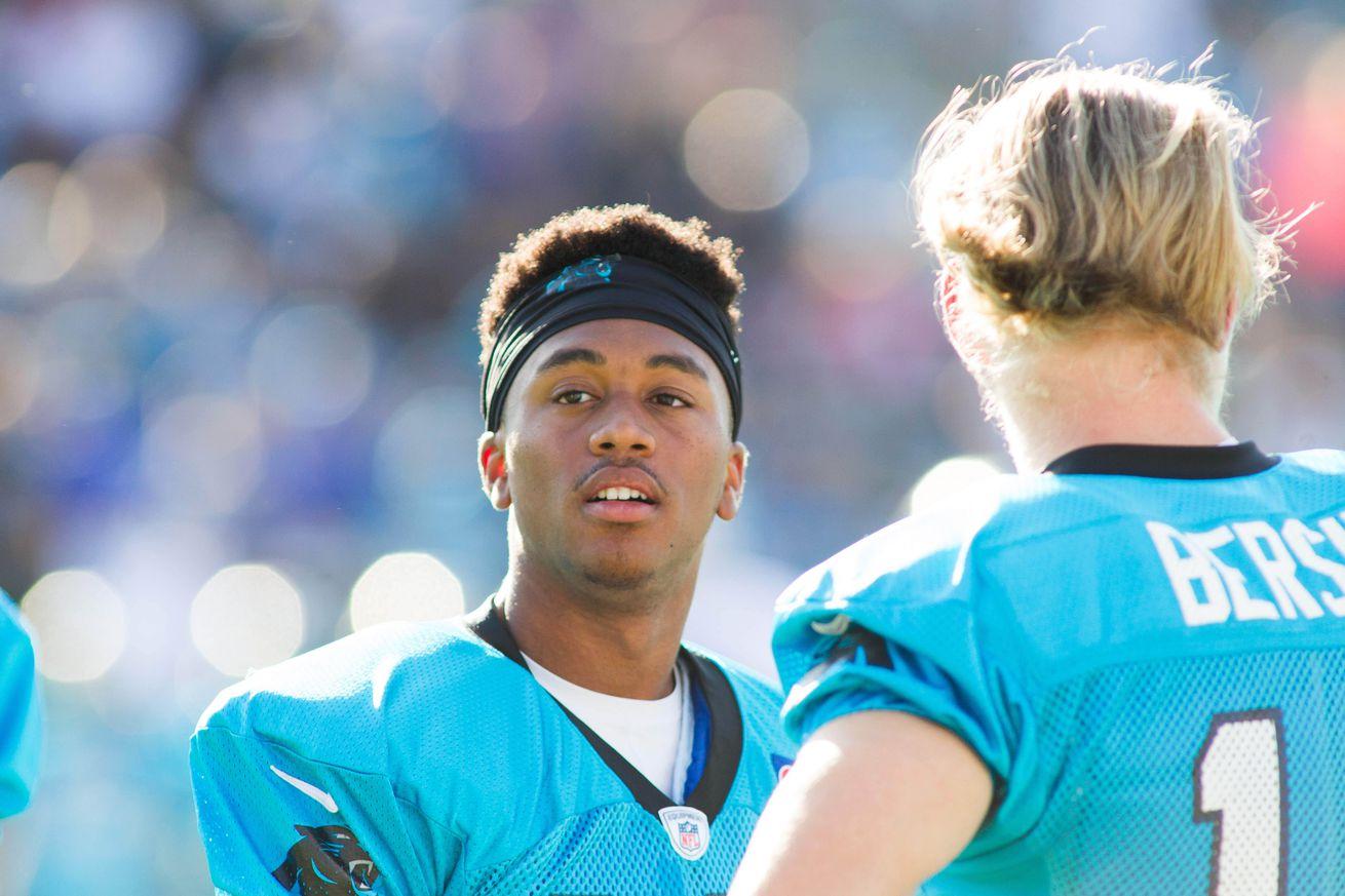 Carolina Panthers Damiere Byrd YOUTH Jerseys