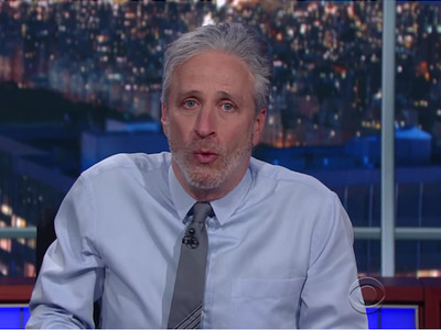 Jon Stewart to the media: 'Take up a hobby. I recommend journalism.'