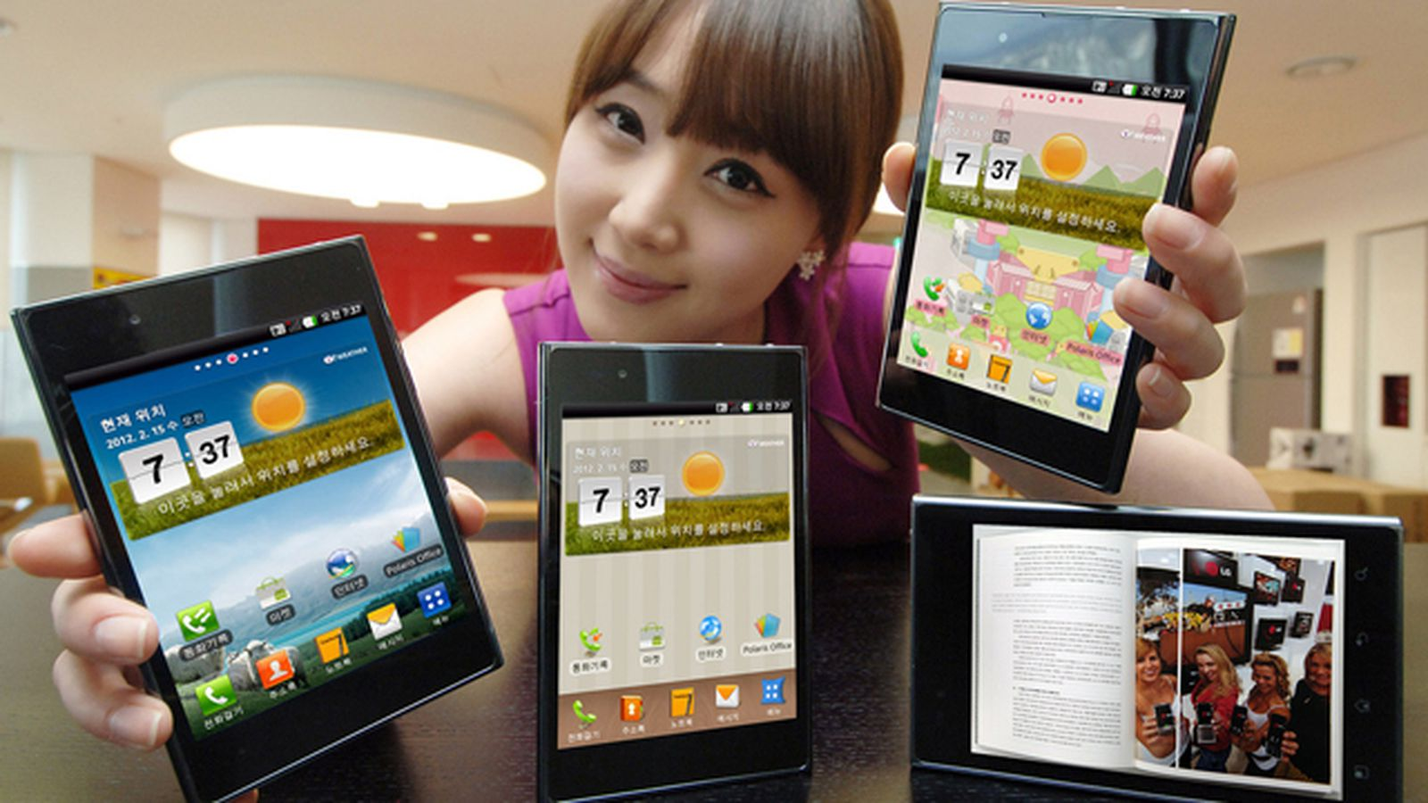 LG makes the Optimus Vu official: 5-inch display and LTE ...