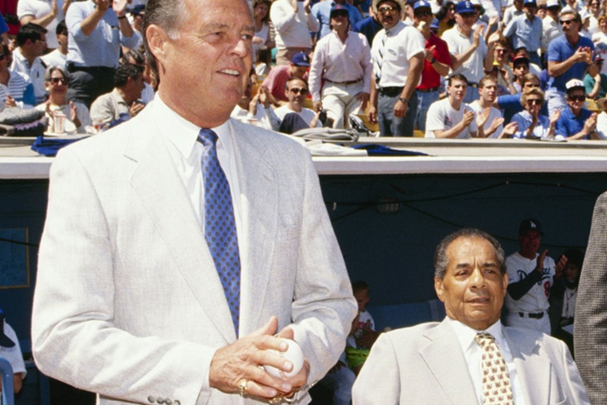 the good bad of the dodgers true blue la the dodgers lost both don drysdale and roy campanella in a week of each other in 1993 ken levine getty images