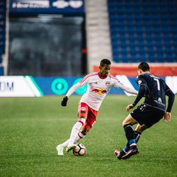 The tussle with Sanchez would define Murillo's NYRB II debut