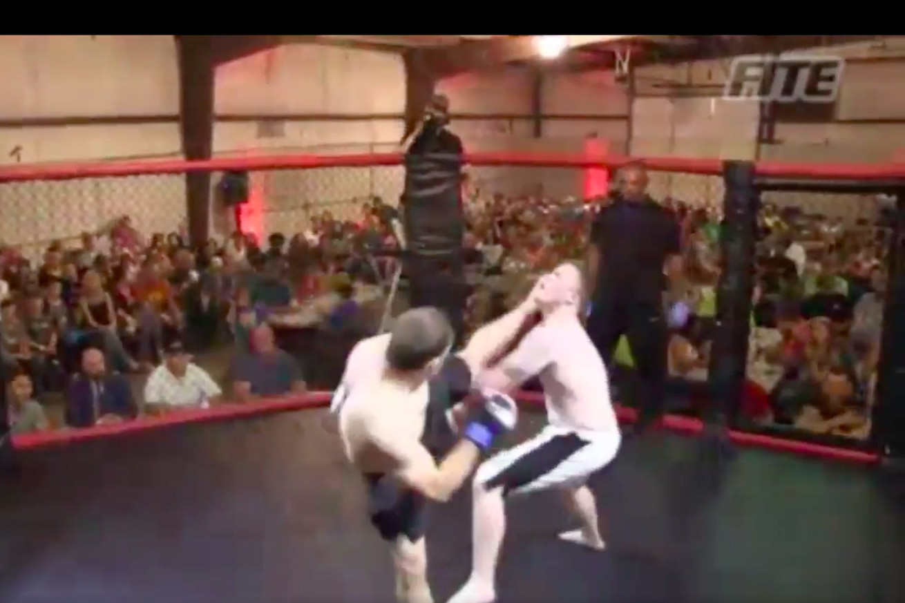 community news, This head kick knockout is one of the fastest in MMA history