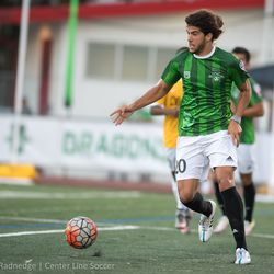 USF alum Davi Ramos in action for the Burlingame Dragons.