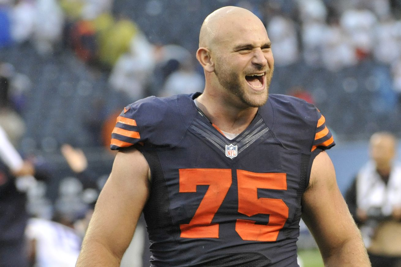 Nike NFL Jerseys - Kyle Long tweets about new Chicago Bears draftee Hroniss Grasu ...