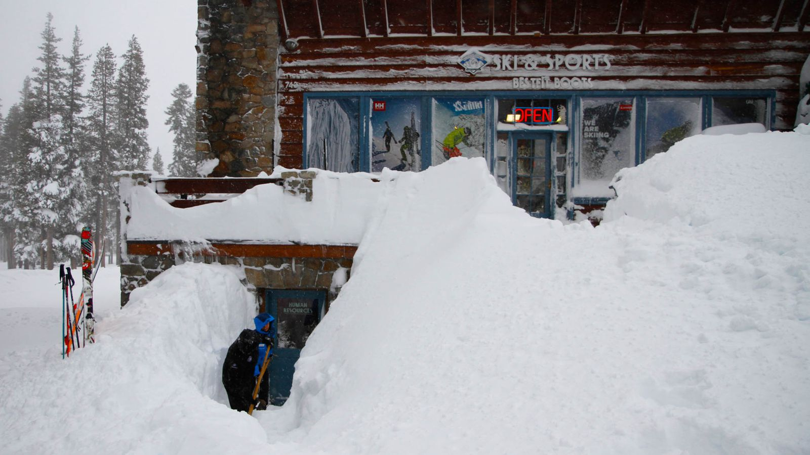 California S Mountains Are Officially Buried In Snow