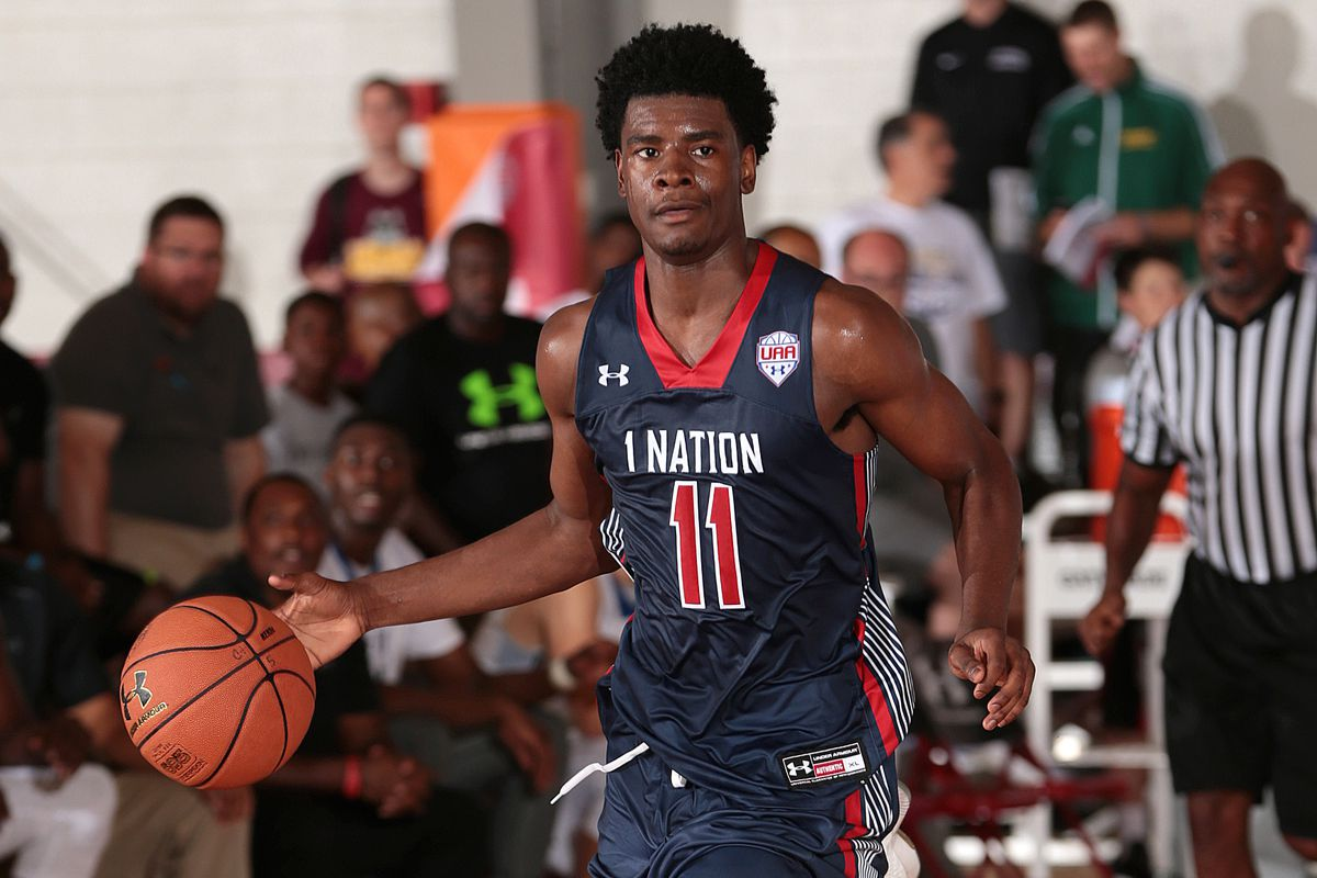 former maryland 5 star basketball target josh jackson commits to kelly kline under armour
