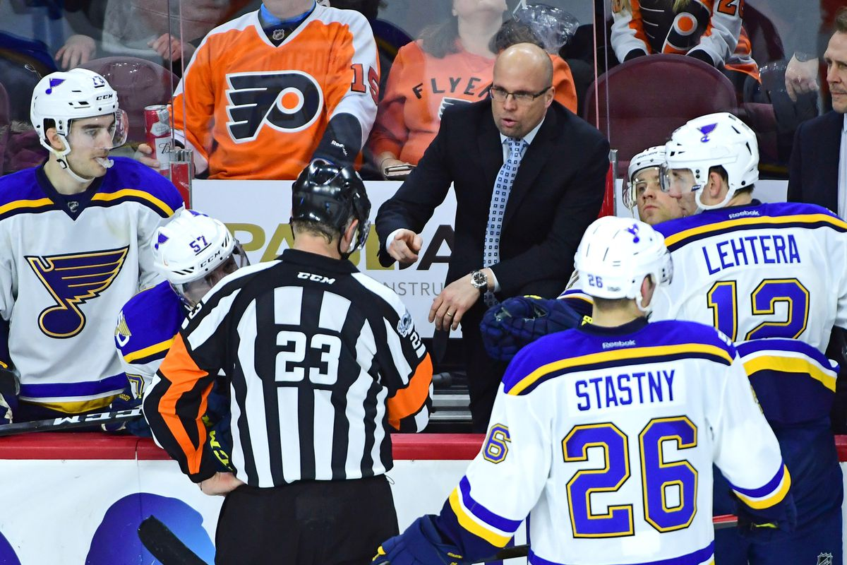 Blues announce coaching staff overhaul; parting with Chicago Wolves