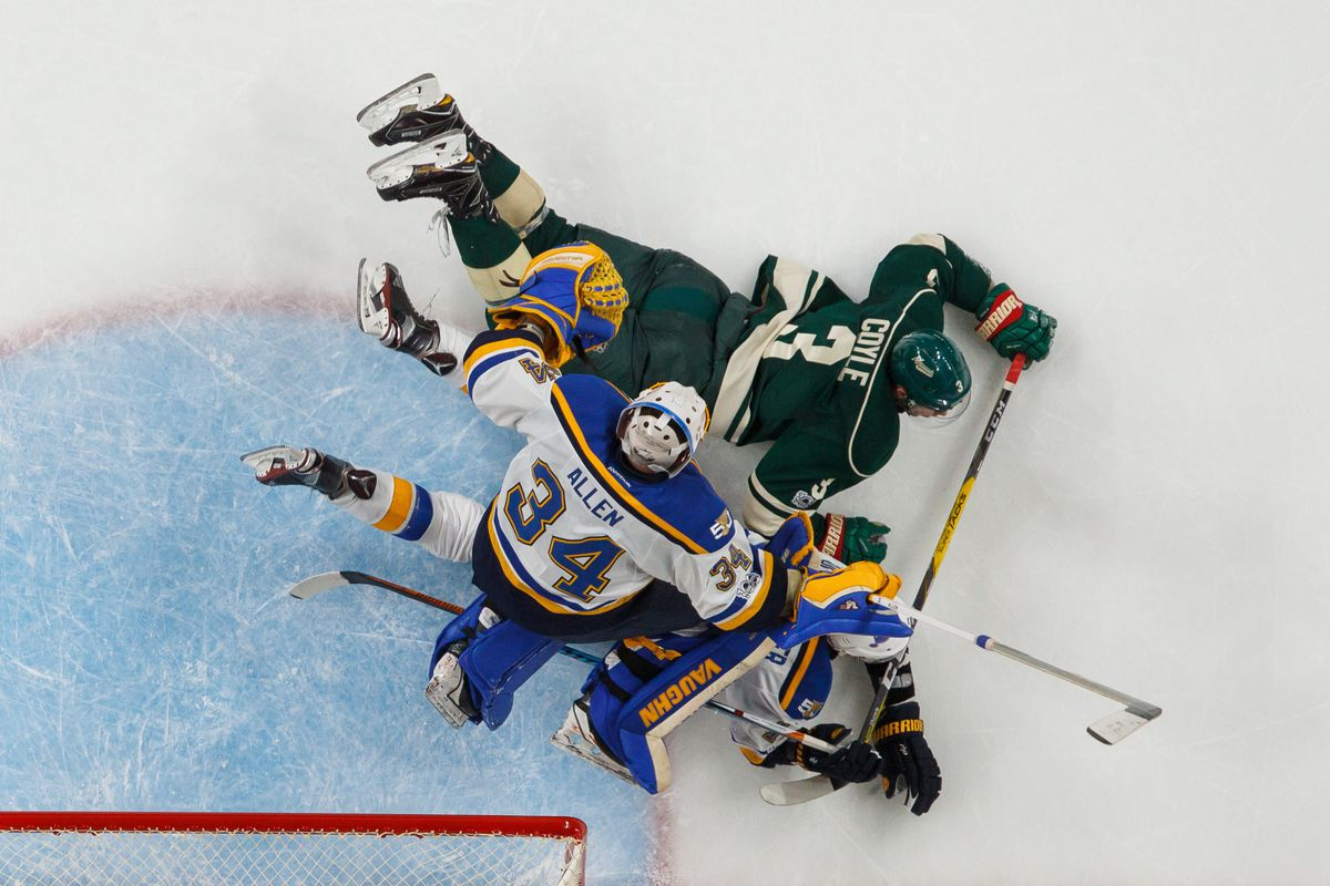 Edmundson's OT winner sends Allen, Blues past Wild 2-1