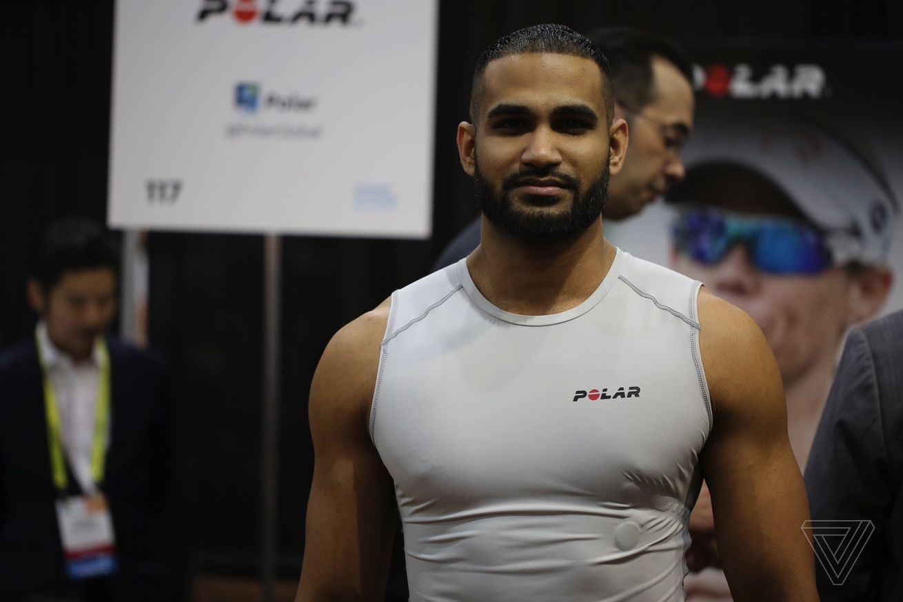 Polar's new smart shirt actually looks comfortable