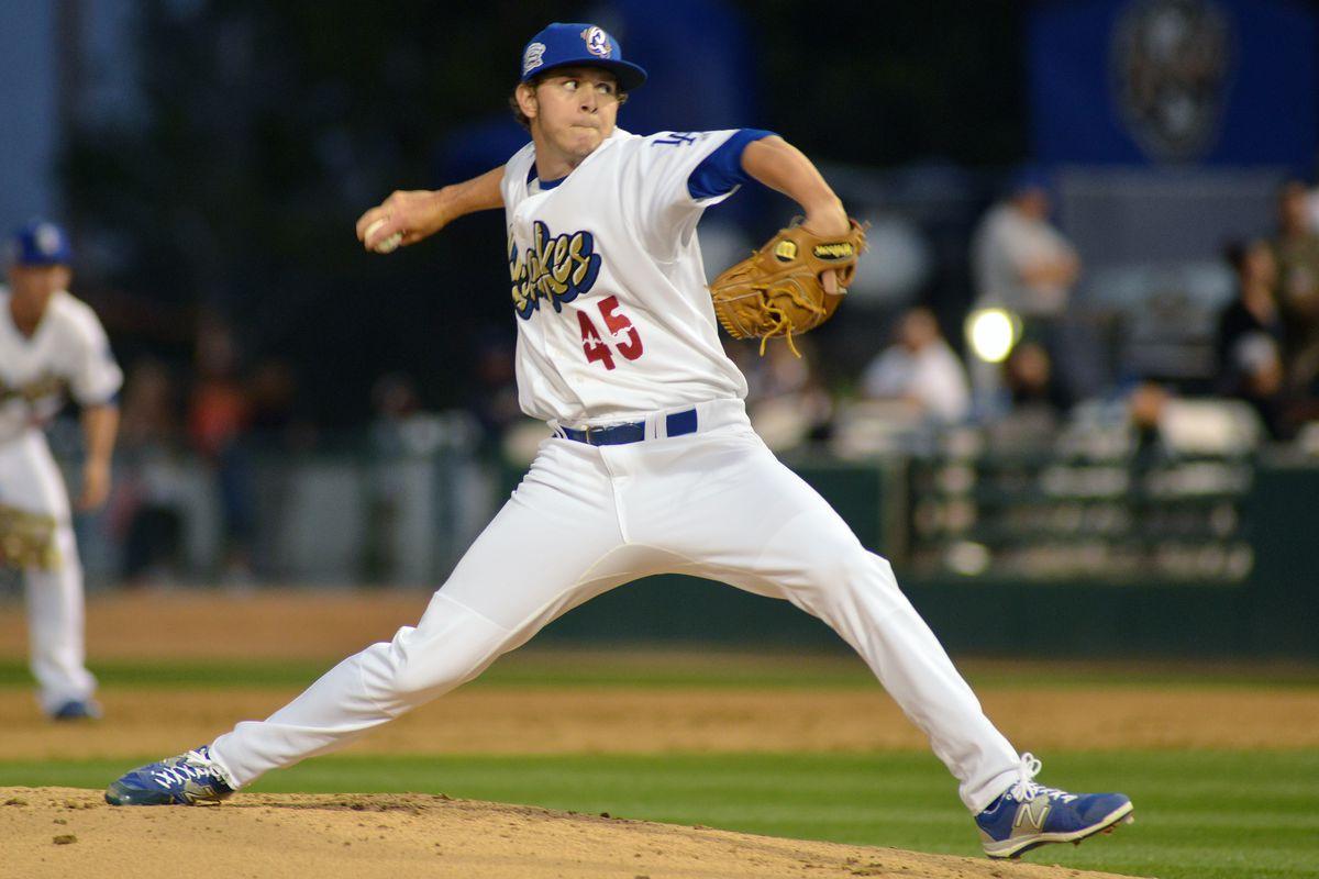 Scott Barlow has solid start in Drillers' win - True Blue LA