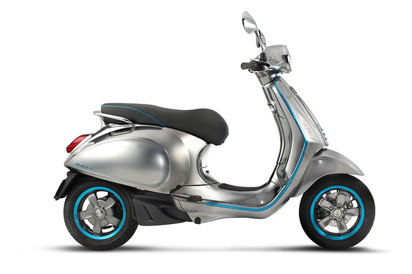 Image result for Vespa's first electric scooter