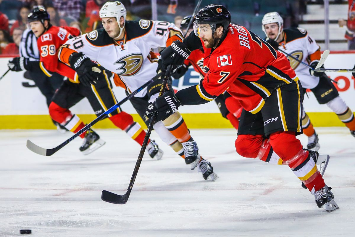 Ducks beat Flames to take top spot in Pacific Division