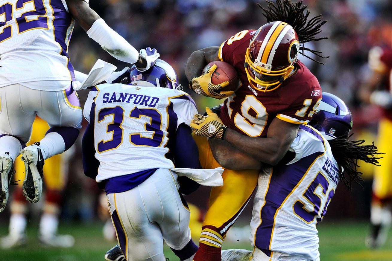 NFL Jerseys Wholesale - Report: Redskins Sign Safety Jamarca Sanford - Hogs Haven