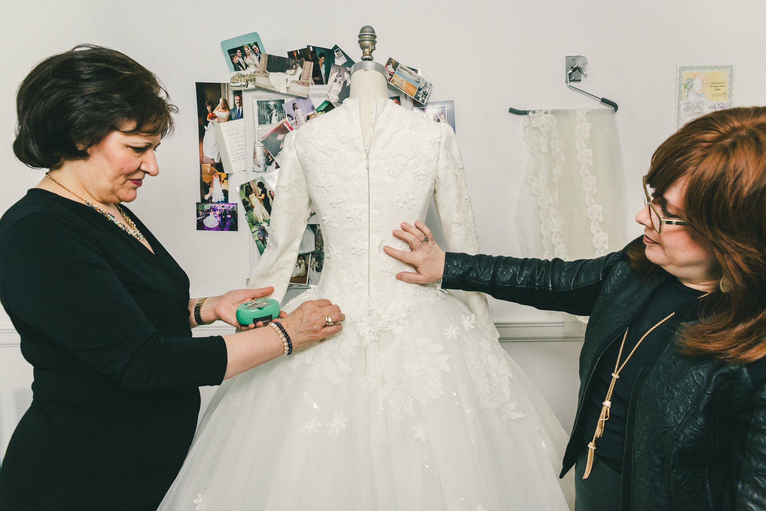behind the veil with kleinfeld 39 s modest bridal consultant