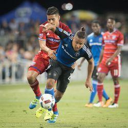 Quincy Amarikwa vs FC Dallas.