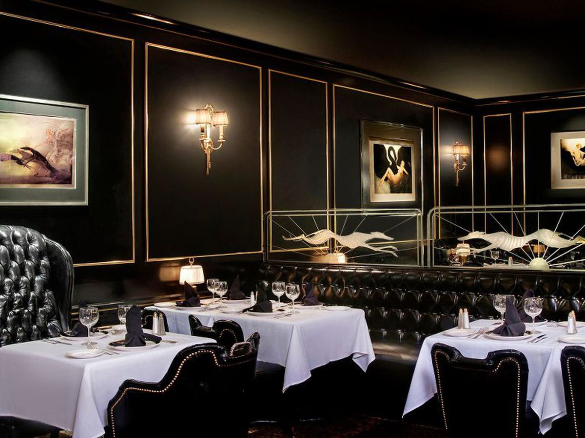 Martinis encouraged a dozen classic steakhouses for d c for Table restaurant dc