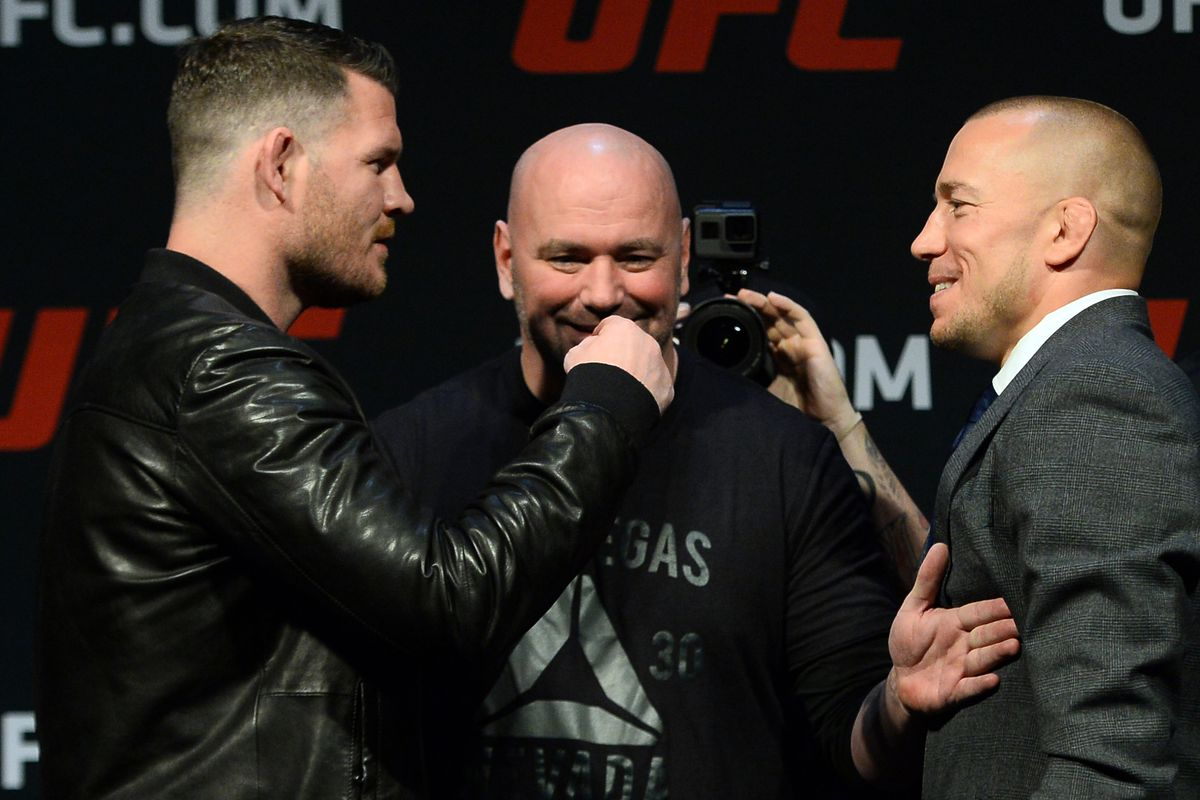 Michael Bisping: Georges St-Pierre is an 'Easy Payday'