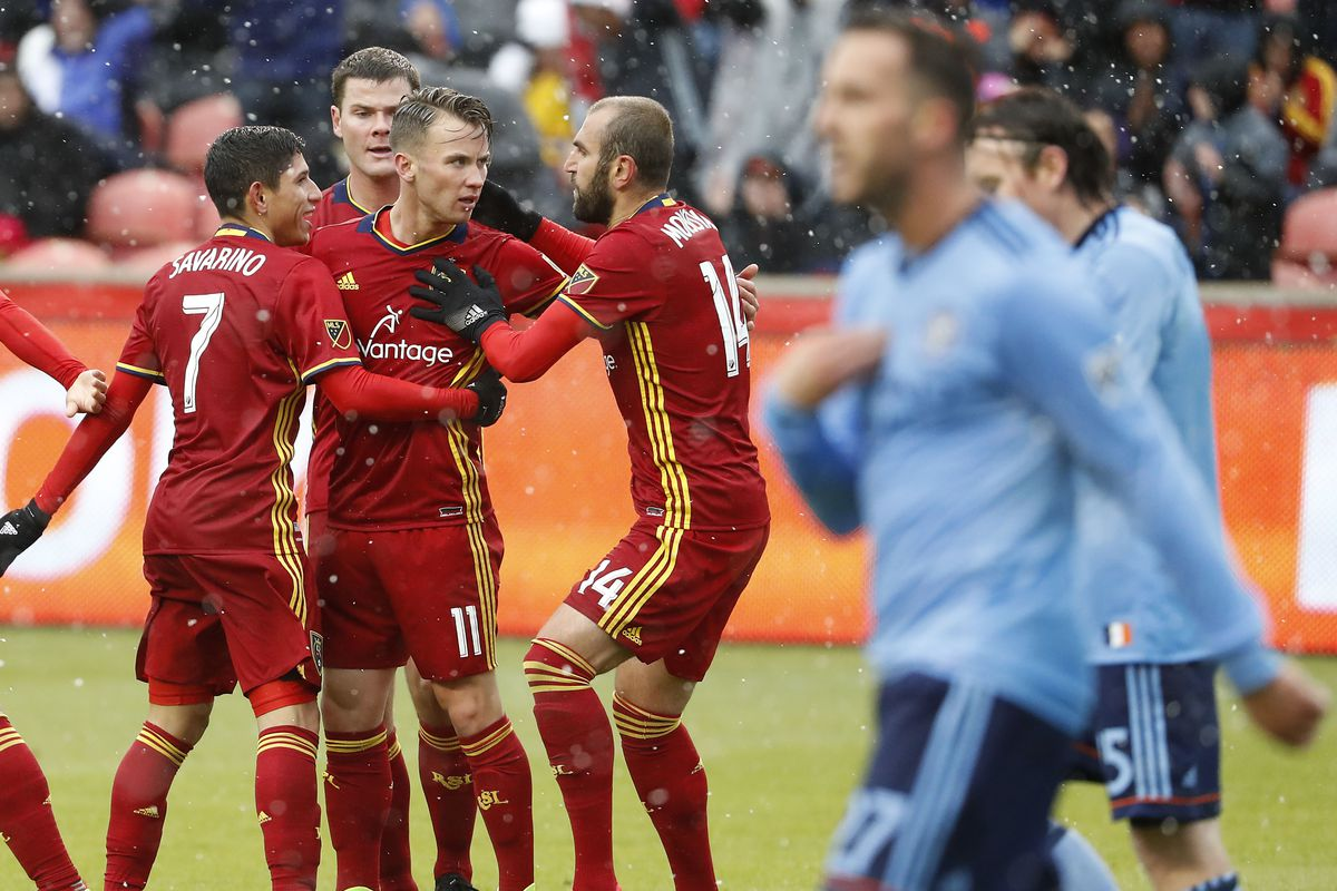 Maund scores go-ahead goal in 51st, Real Salt Lake beats NYC