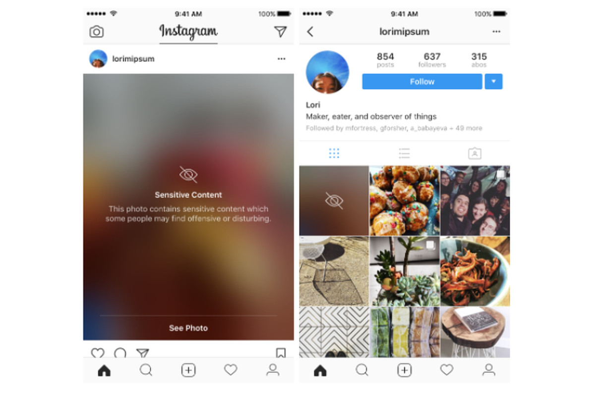 Instagram rolling out two-factor authentication for all, blurring for sensitive content