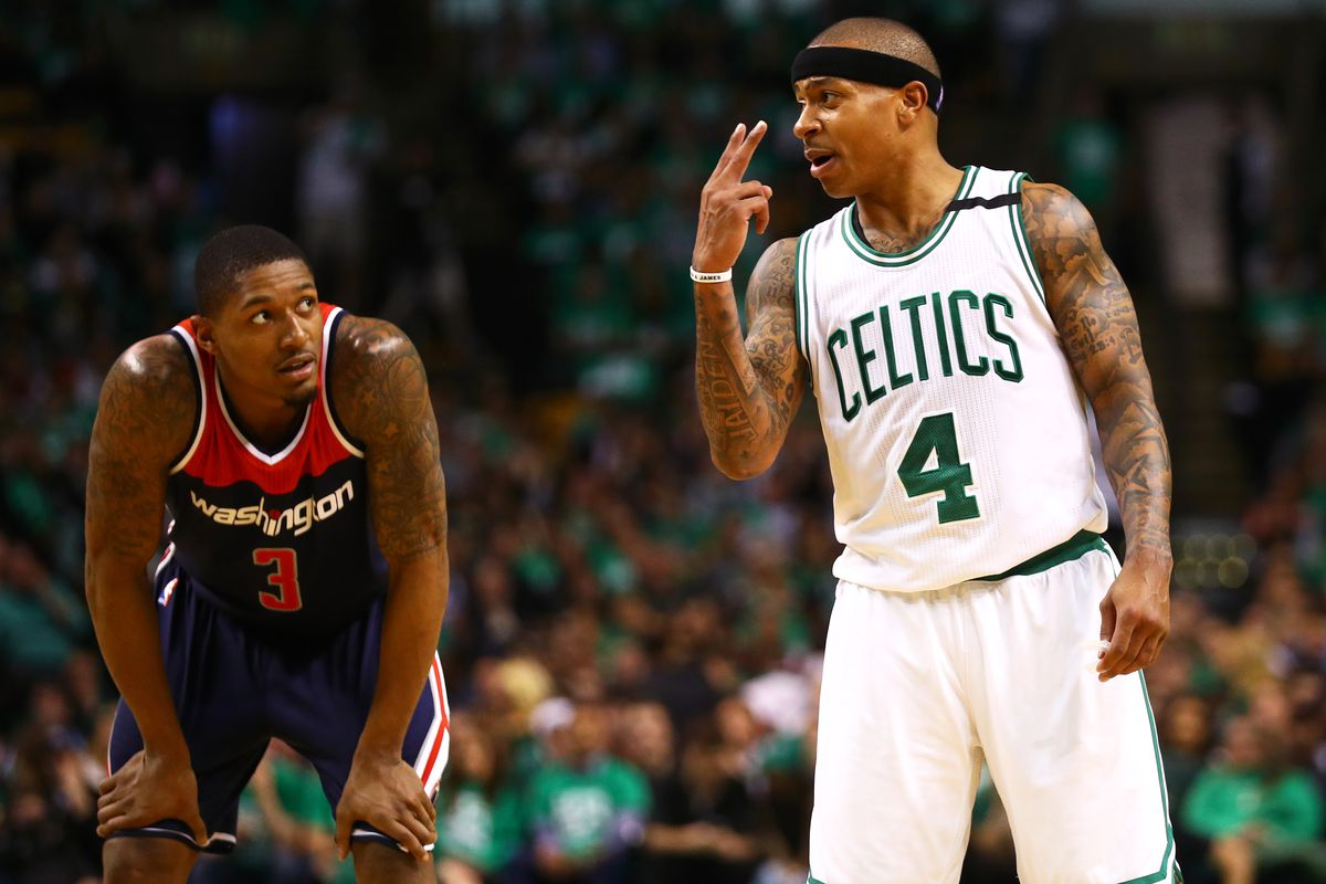 Celtics overcome Wizards, set up Cavs clash