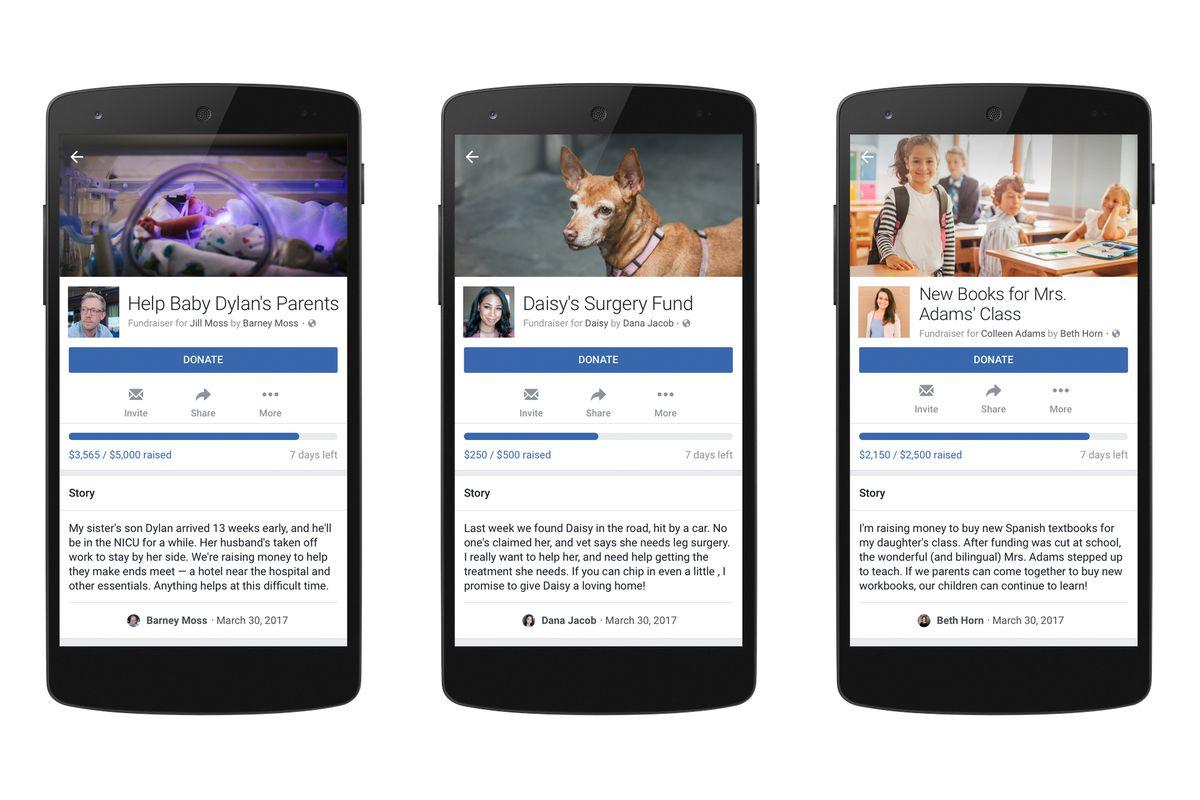 Facebook to make fundraising easier