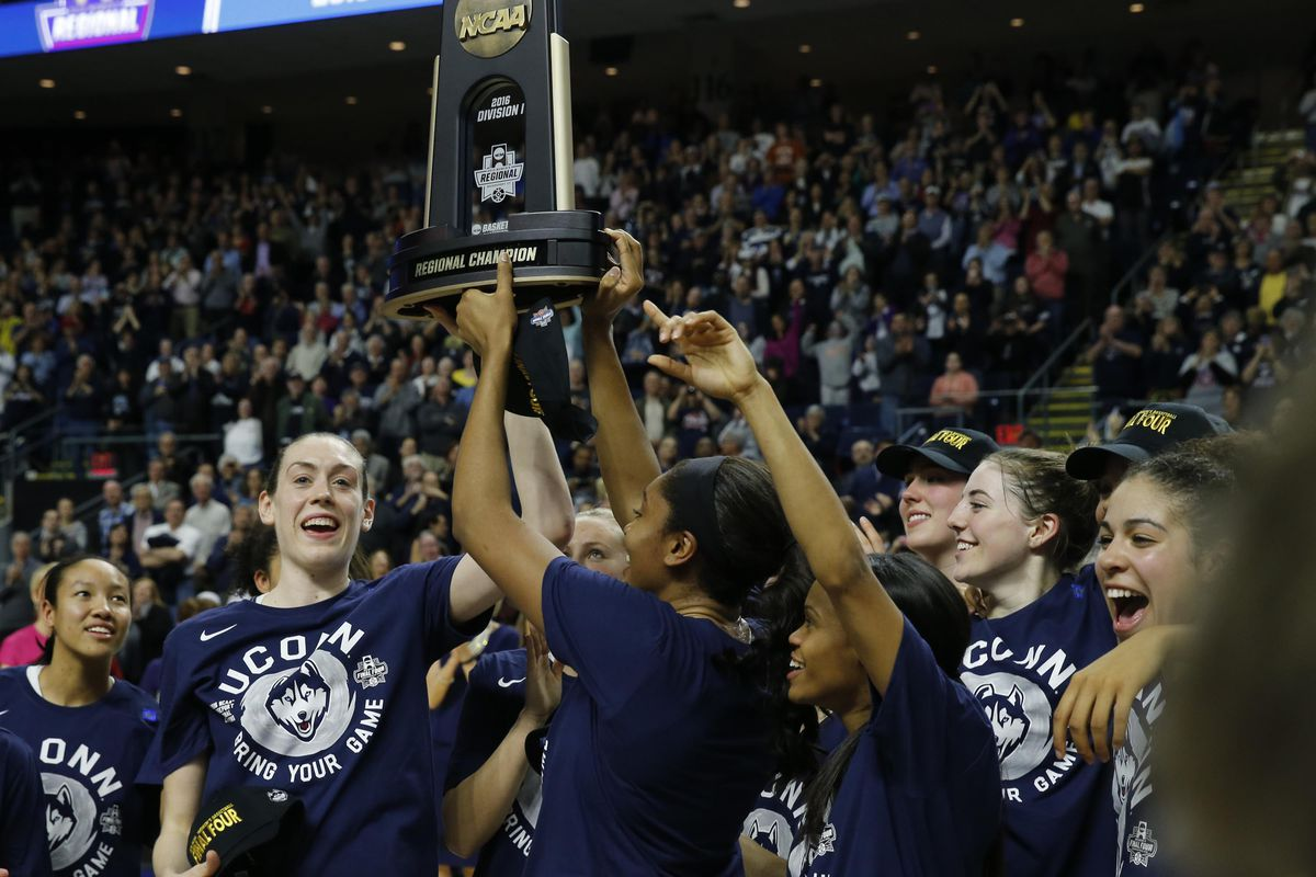 UConn draws No. 1 overall seed, will play Albany in first round